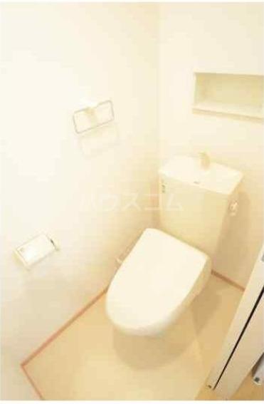 deux parte 104号室のトイレ