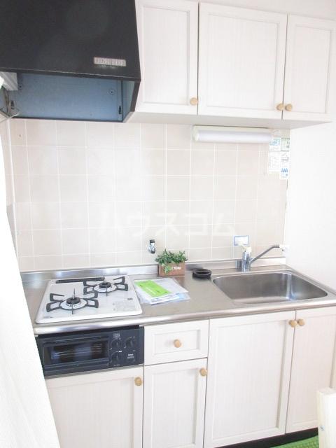 コープレットⅡ 205号室のキッチン