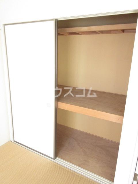 コープレットⅡ 205号室の収納