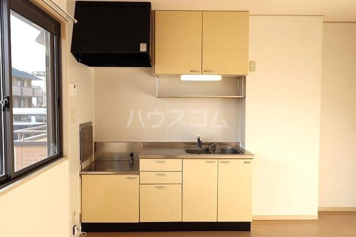 メゾンエクレールC 102号室のキッチン