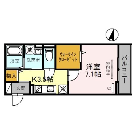 (仮)D-Room吉川保1丁目A 301号室の間取り