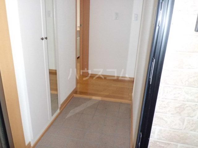 シルクハイツA 102号室の玄関