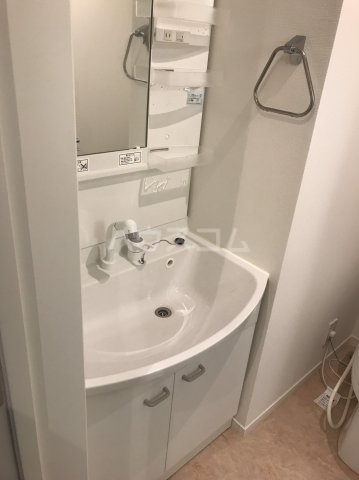 カーササラ 101号室の洗面所