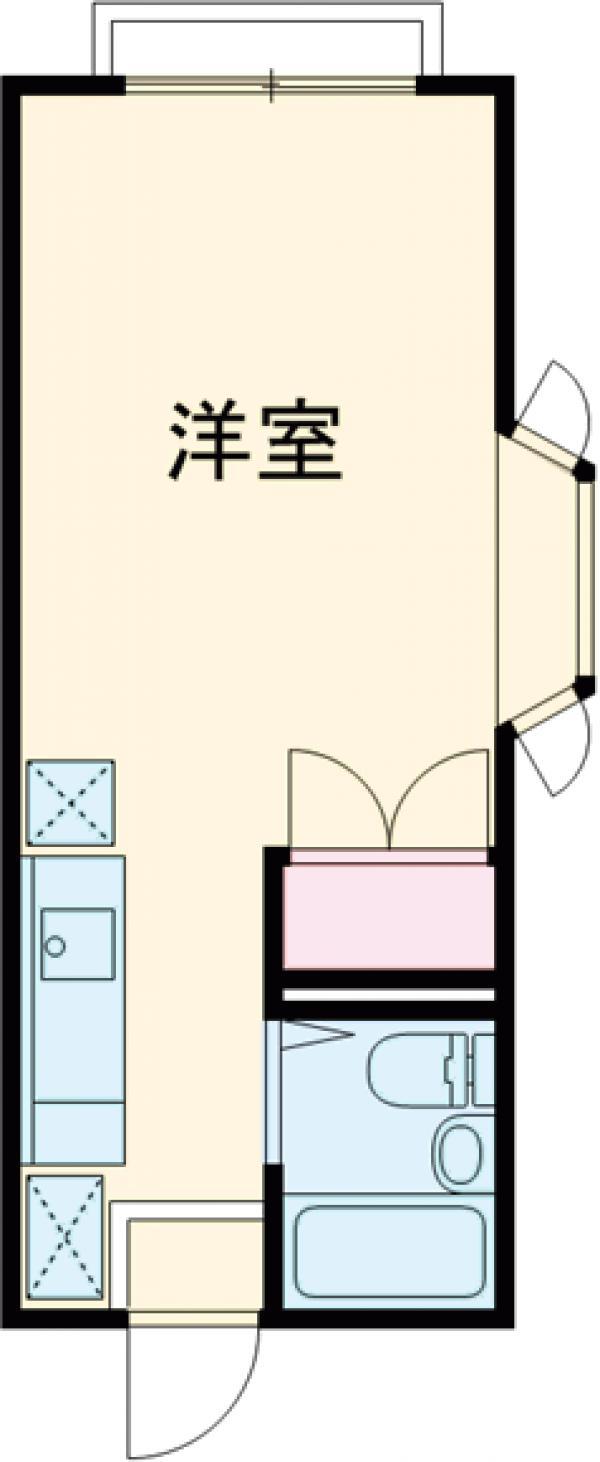エステートピアSAKURA・101号室の間取り