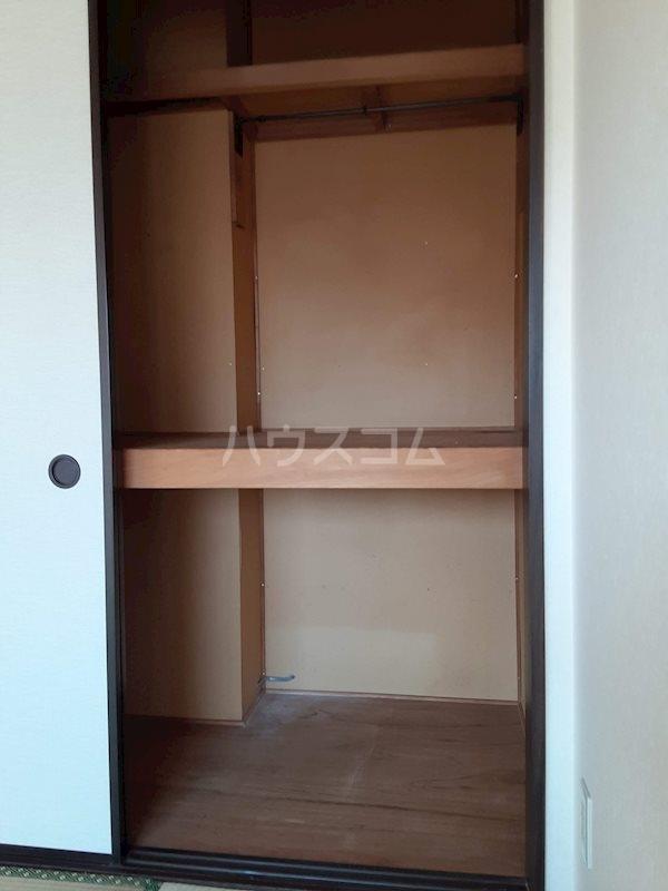 北ウイングB 205号室の収納