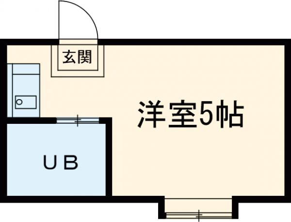 ReDEAL三鷹・203号室の間取り