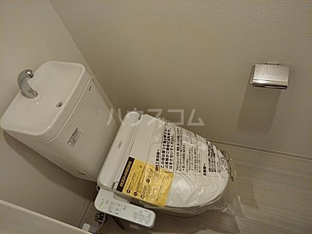 アイル 品川ウエスト旗の台 301号室のトイレ
