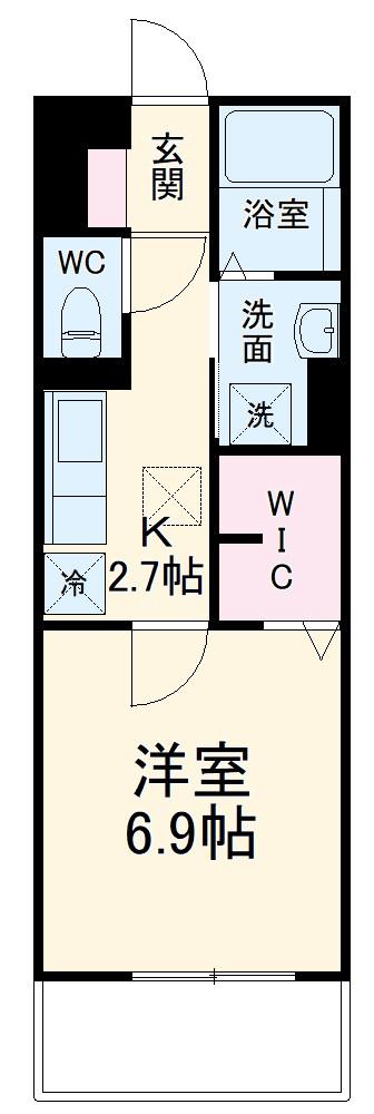 仮称)D‐room知立市牛田町ハイツ 202号室の間取り