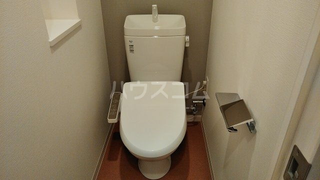 アジールコート新高円寺 205号室のトイレ