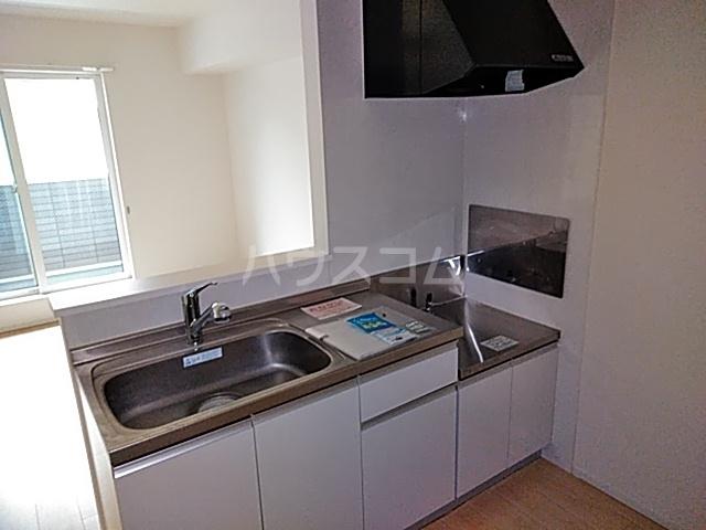 エアリー・K 02040号室のキッチン
