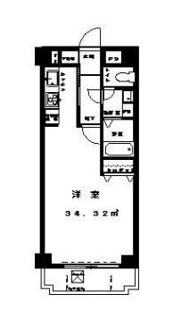 シティオ蒲田・202号室の間取り
