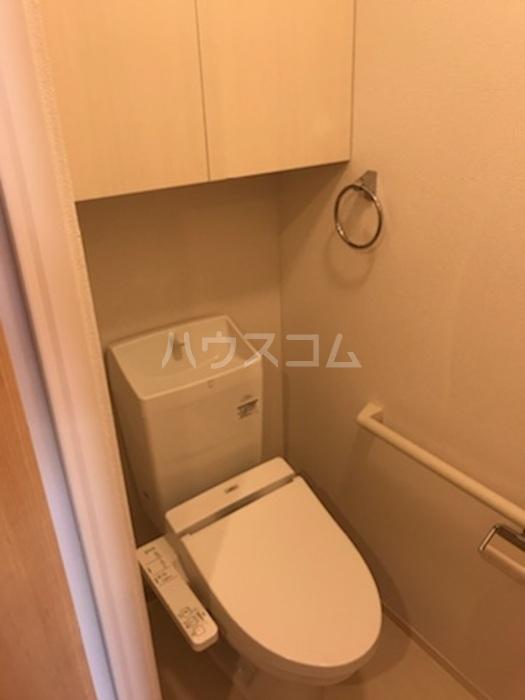 ラ メゾン ボヌール桜塚A棟 203号室のトイレ