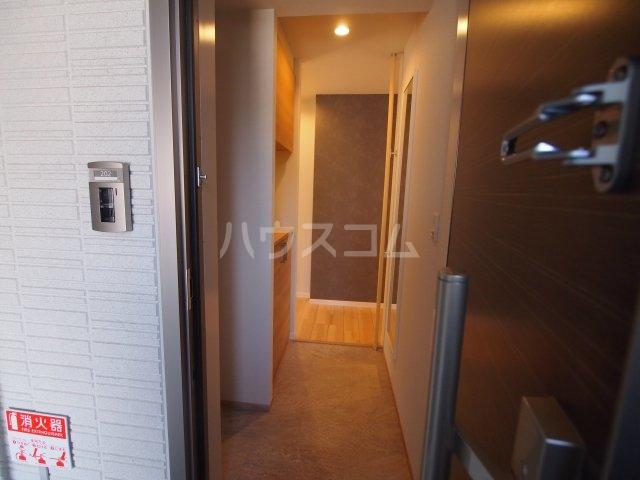 べレオ三条 202号室の玄関