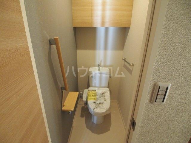 べレオ三条 202号室のトイレ