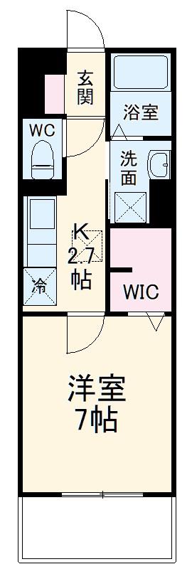 仮称)D‐room知立市牛田町ハイツ 306号室の間取り