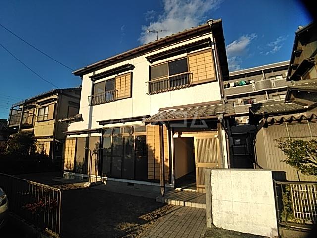 井内町借家の外観