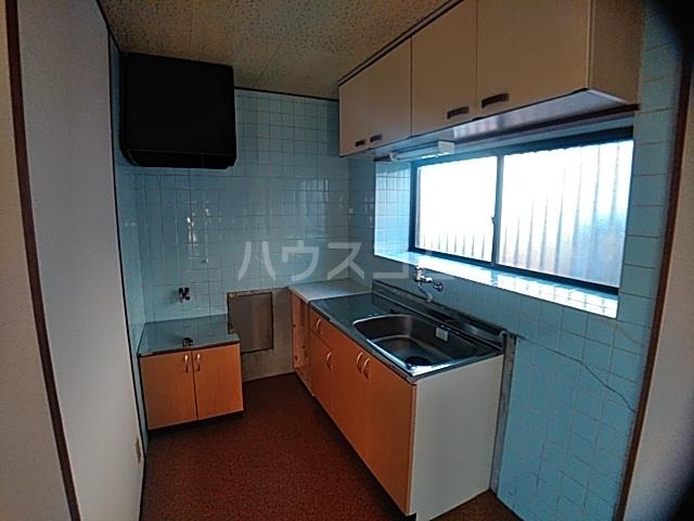 井内町借家のキッチン