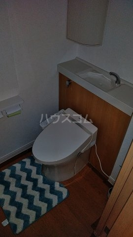 宇都宮市山本貸家のトイレ
