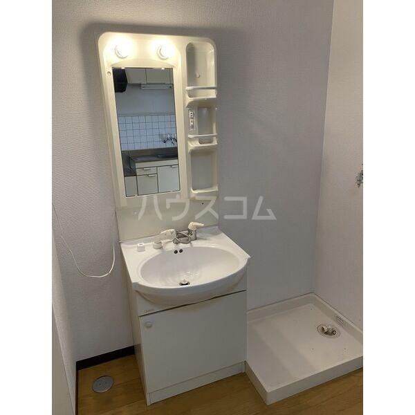 シャルムパレ 202号室の洗面所