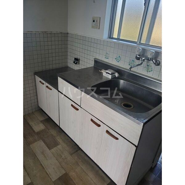 西町ハイツ 206号室のキッチン