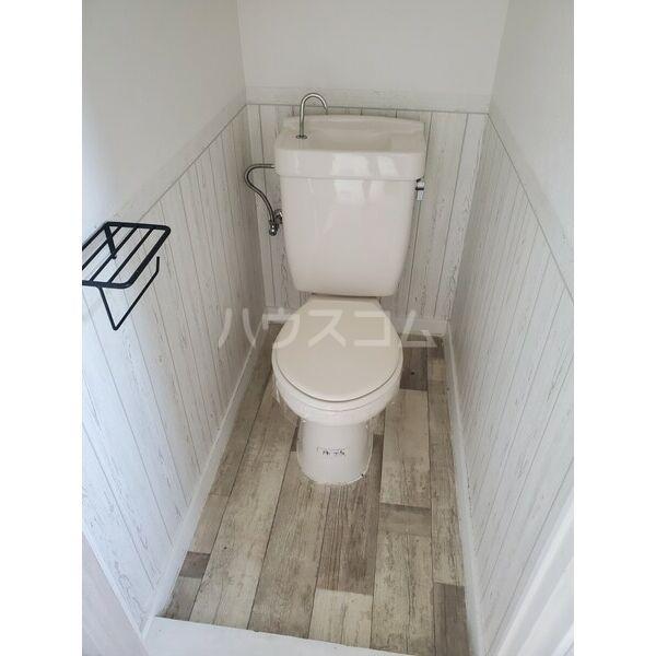 西町ハイツ 206号室のトイレ