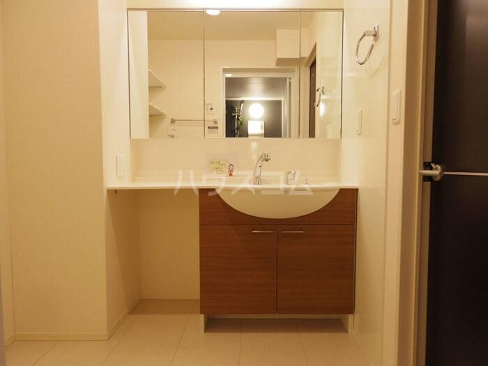 ヴィクトワール常総B 201号室の洗面所