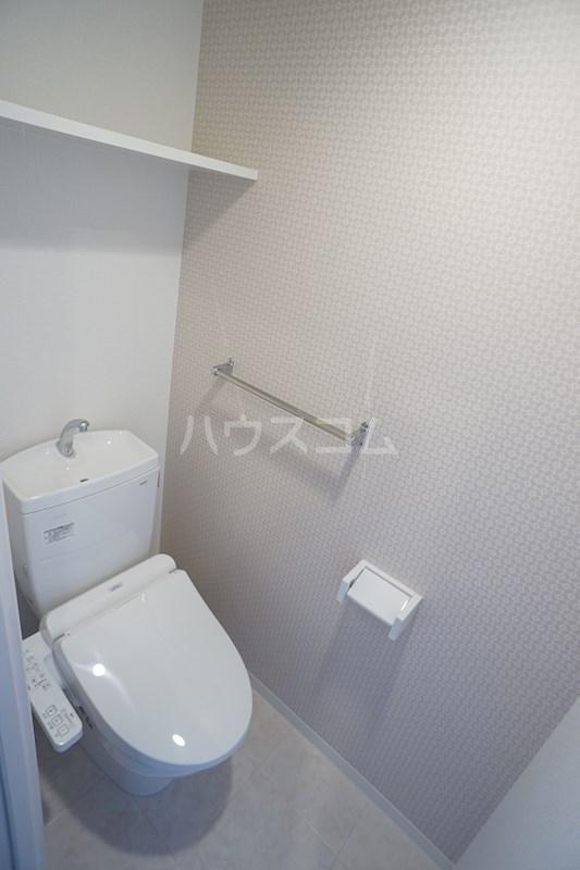 クロリス 303号室のトイレ