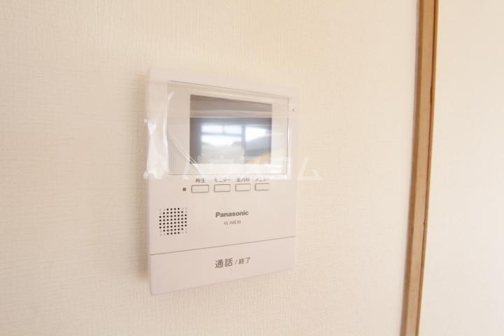 グランドールマンション 206号室のセキュリティ