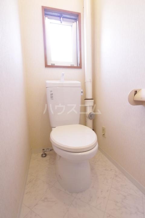 グランドールマンション 206号室のトイレ