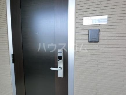 シュエット 202号室の玄関
