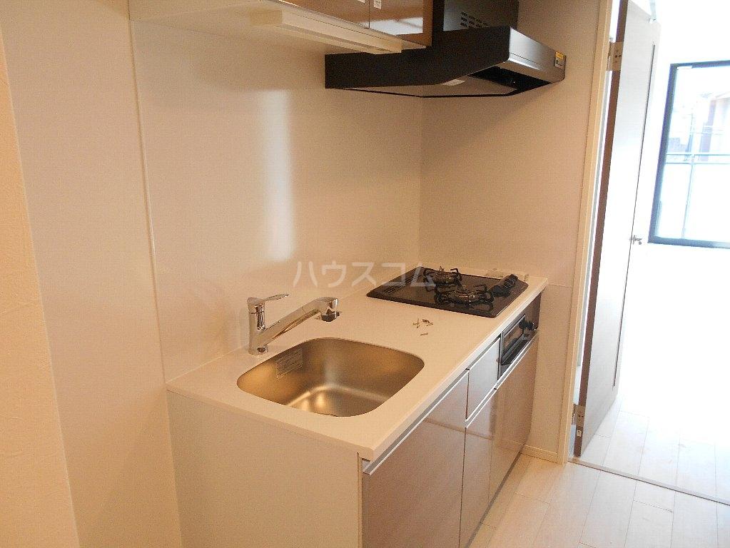 ソルレバンテ 102号室のキッチン