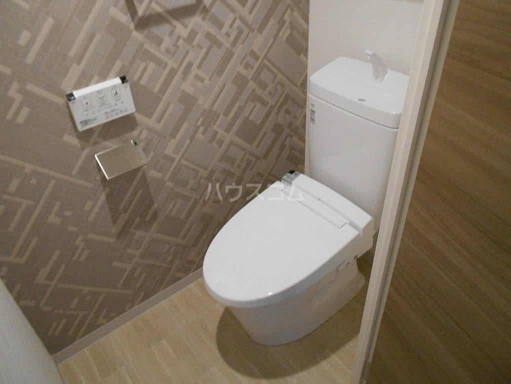 ソルレバンテ 102号室のトイレ