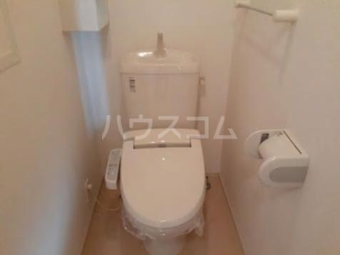 ブランネージュ B 02010号室のトイレ