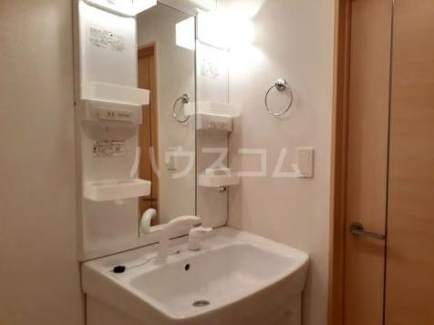 ブランネージュ B 02010号室の洗面所