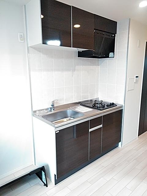 グリシーナ 306号室のキッチン