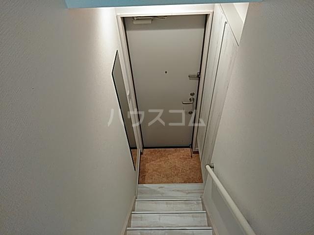 ミハス池袋 201号室の玄関