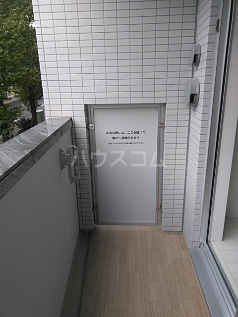 レオンコンフォート池田山 603号室のバルコニー