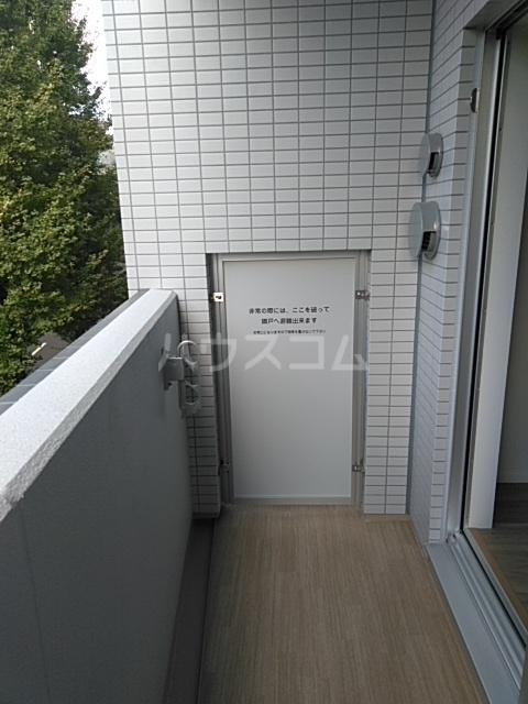 レオンコンフォート池田山 703号室のバルコニー