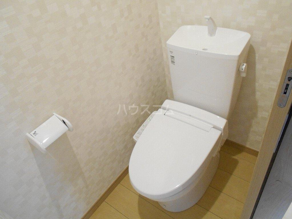 アトラス菊名 104号室のトイレ