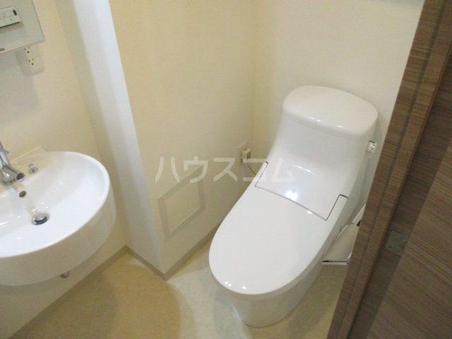 パティーナ狛江 403号室のトイレ