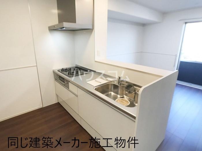 仮)D-room岡宮 106号室のキッチン
