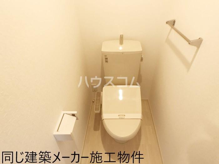 仮)D-room岡宮 106号室のトイレ
