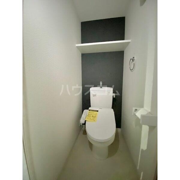 S-RESIDENCE葵II 403号室のトイレ