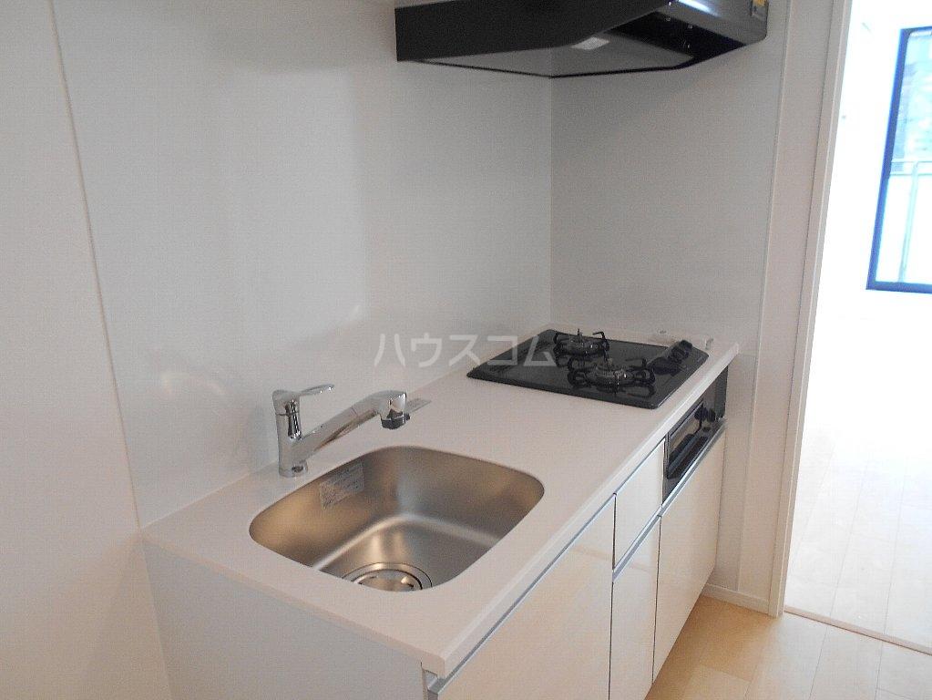 ソルレバンテ 403号室のキッチン