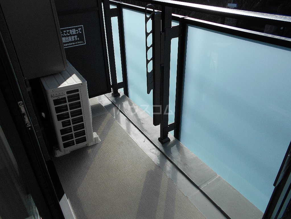 ソルレバンテ 403号室のバルコニー