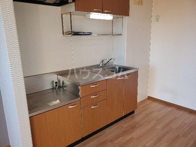 セジュール秀 201号室のキッチン