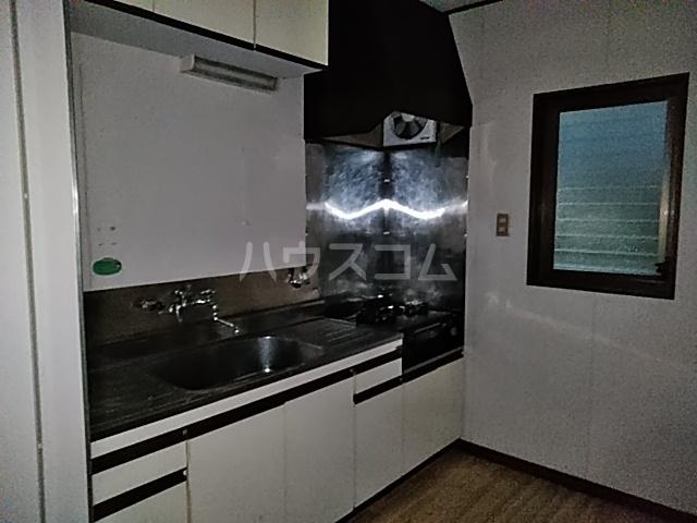 第3グリーンハウス 202号室のキッチン