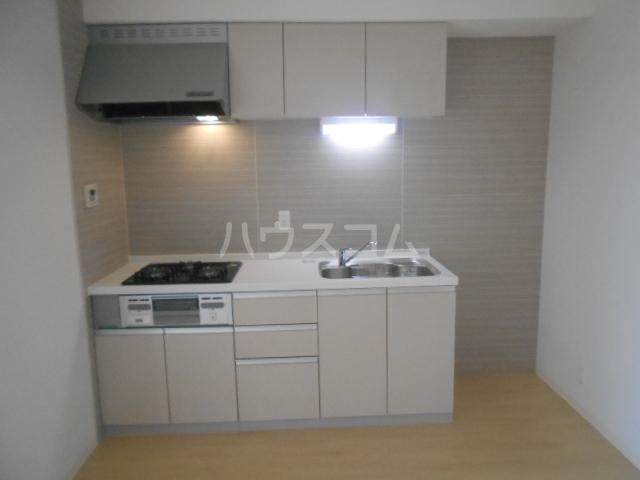 リバーサイド橋忠 2D号室のキッチン
