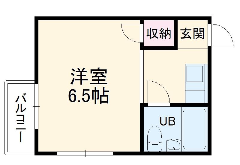 PISODE飯田 205号室の間取り