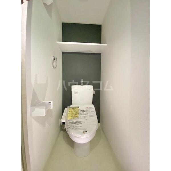 S-RESIDENCE葵II 504号室のトイレ